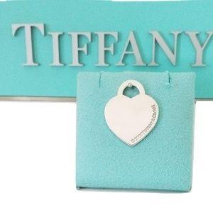Tiffany & Co Blank Engraving Heart Tag Charm